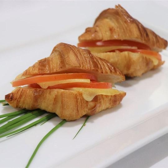 Gluten Free Savoury Croissant  - cheese and tomato (VEG)