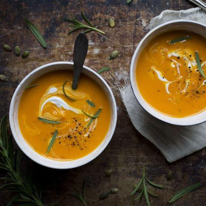 Soup - Creamy Pumpkin  (veg)