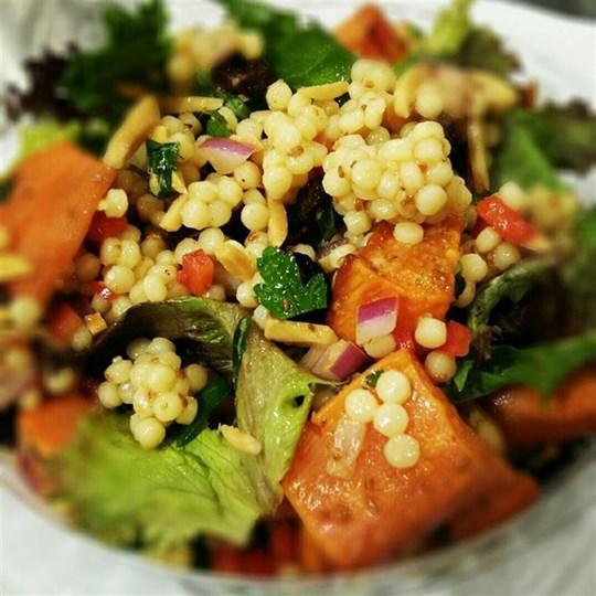 Moroccan Pearl Couscous Salad (VEG)
