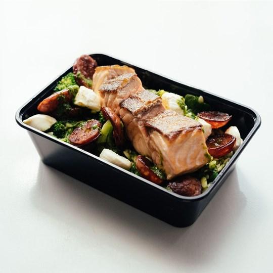 Atlantic Salmon Orzo Pasta - Take Home Meal