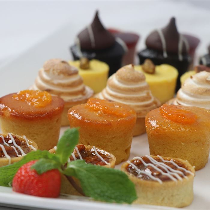 Petite Assorted Tartlets - platter of 24
