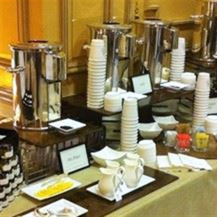 Full Service Coffee & Tea Station