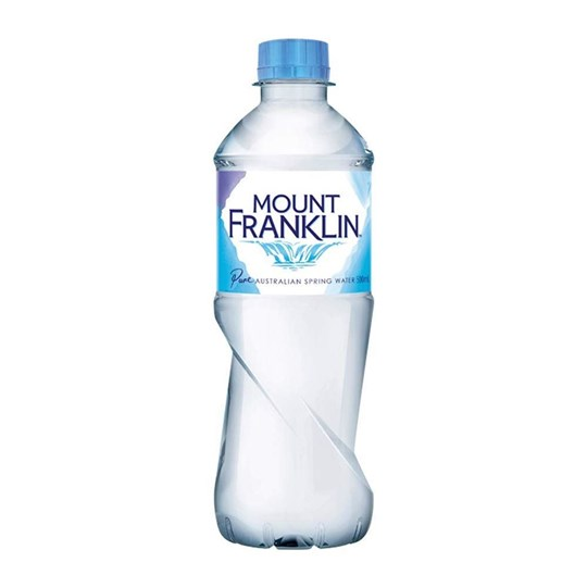 Natural Spring Water 500ml