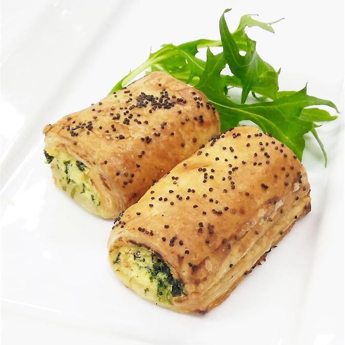 Homemade Spinach & Ricotta Rolls (VEG)