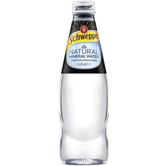 Plain Sparkling Mineral Water 300ml
