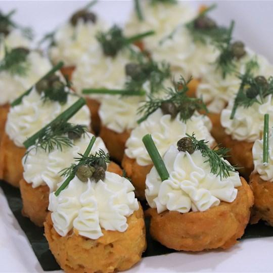 Sweet Potato Rosti (VEG)