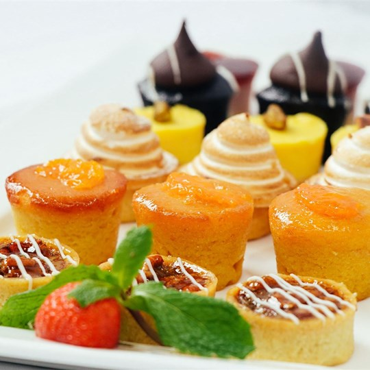 Assorted Petite Tartlets - platter of 24