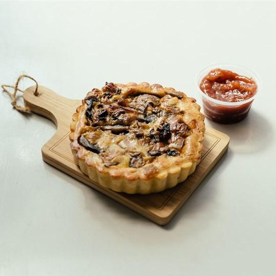 Individual Mediterranean Roast Vegetable Quiche (VEG) - Take Home Meal