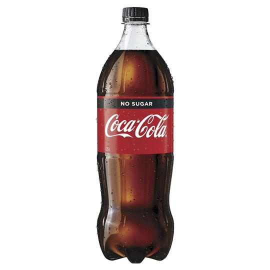 Coke No Sugar 1.25Ltr