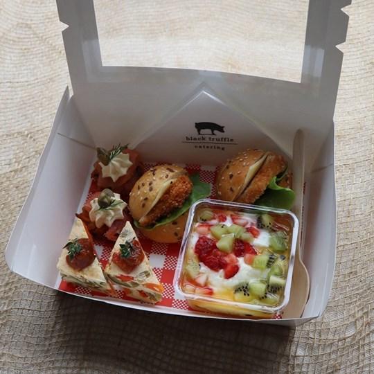 White Savoury Lunch Box 2