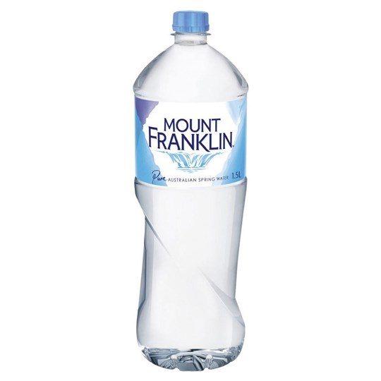 Natural Still Spring Water 1.5Ltr