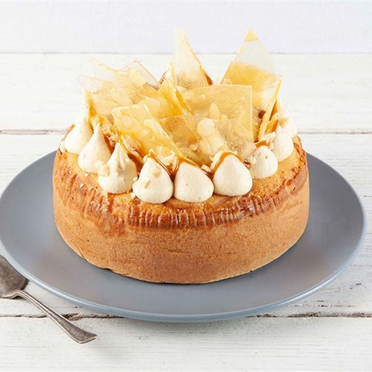 Caramel and Macadamia Cheesecake (GF)