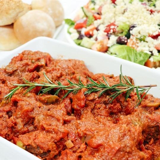 Buffet - Puttanesca Beef Cheeks with Salsa Verde Crushed Potatoes (GF)