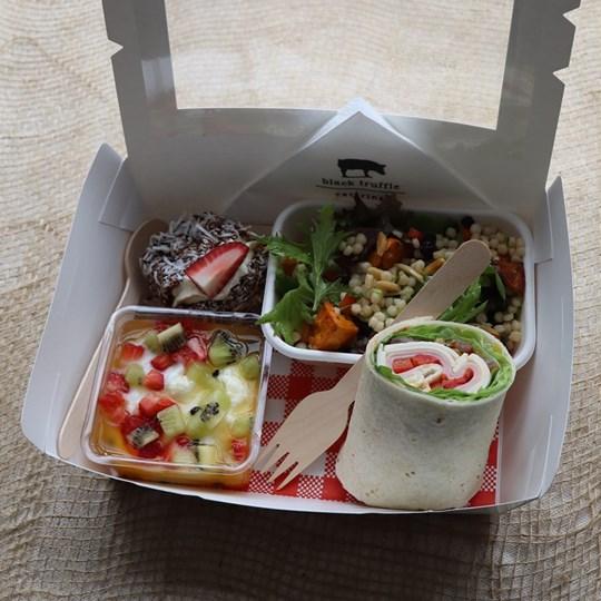 White Savoury Lunch Box 1