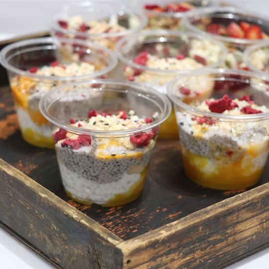 Tapioca Chia Trifle (GF) (VEGAN)