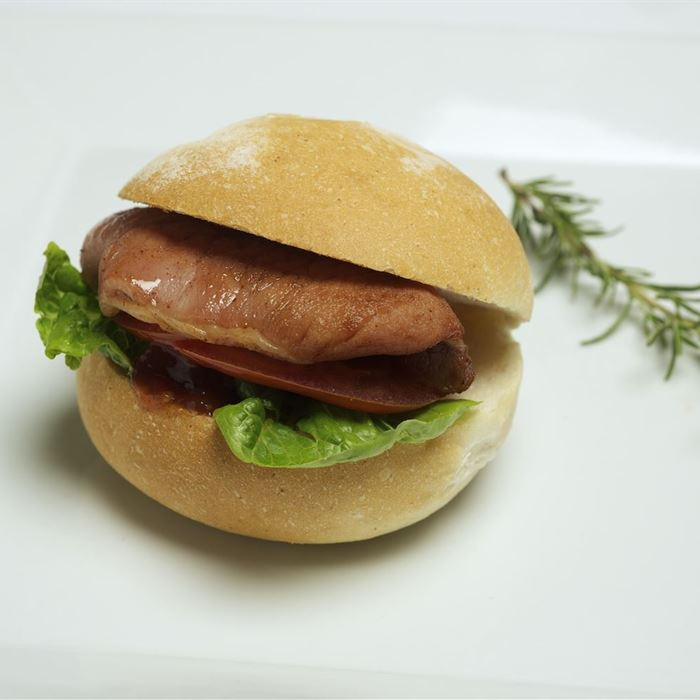 Bacon, Lettuce & Tomato Bap Roll with Mayonnaise