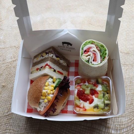 White Lunch Box 2