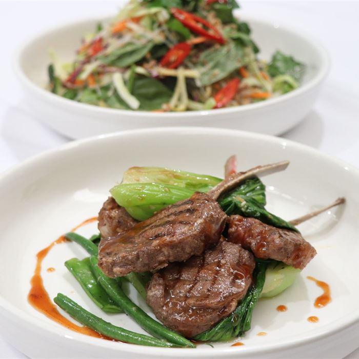 Buffet - Asian BBQ Char Sui Lamb Cutlets