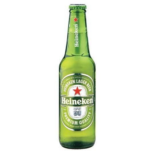 Heineken Beer (Glass Bottle)