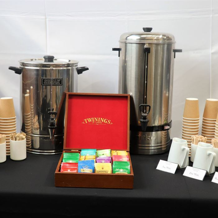 Full Service Coffee & Tea Station