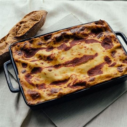 Lamb Moussaka (GF) (4 serves) [Foil Tray]