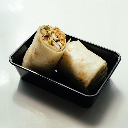 Mexican Vegetarian Burrito - Take Home Meal