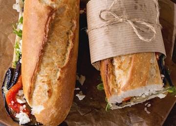 Baguette, wraps & sandwiches