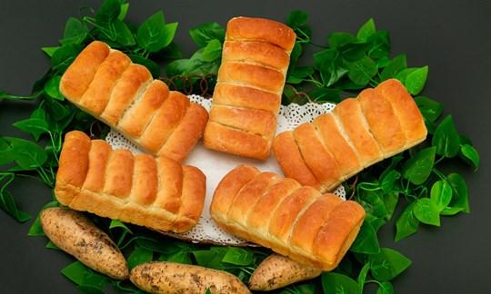 Sweet potato bread loaf