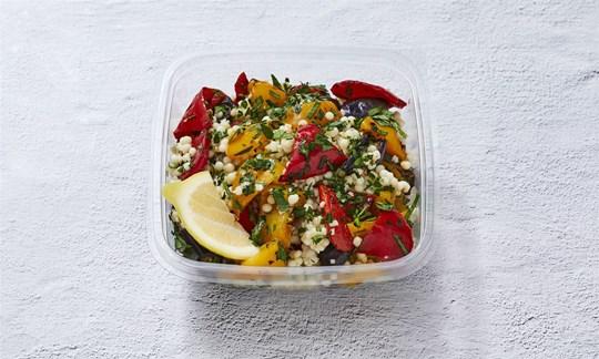 Roast vegetable salad bowl (V, DF)