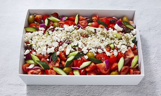 Greek salad (V, GF)