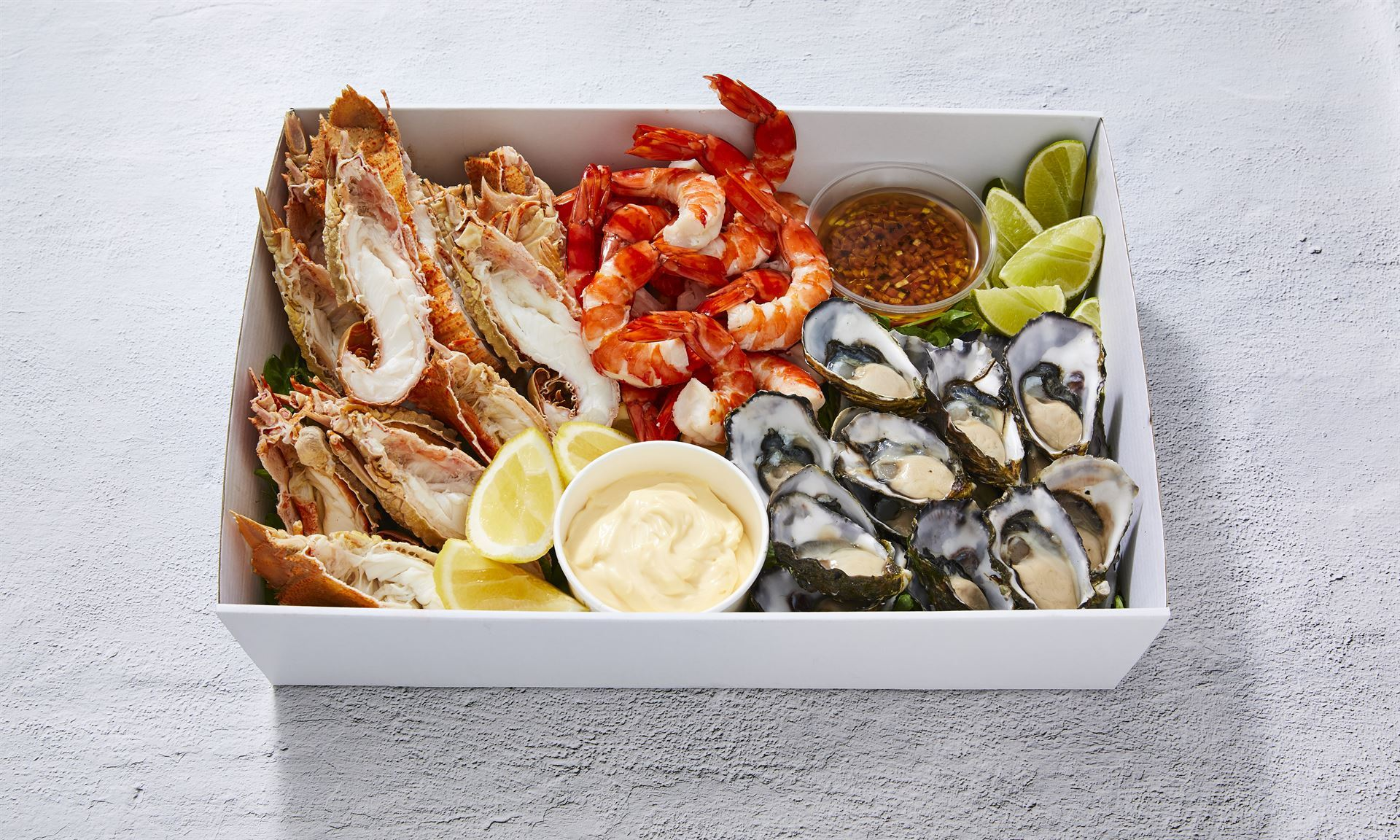 SEAFOOD BOXES