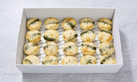 Lamb & rosemary mini pie
