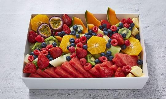 Fresh fruit (V, GF, DF)