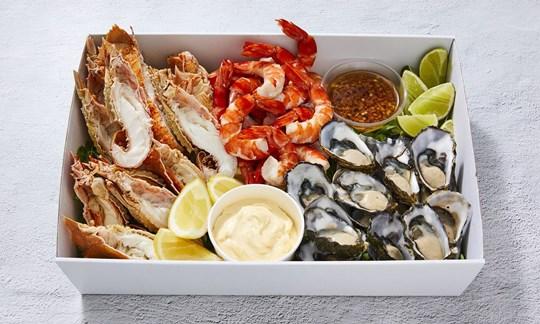 Mixed seafood (GF)
