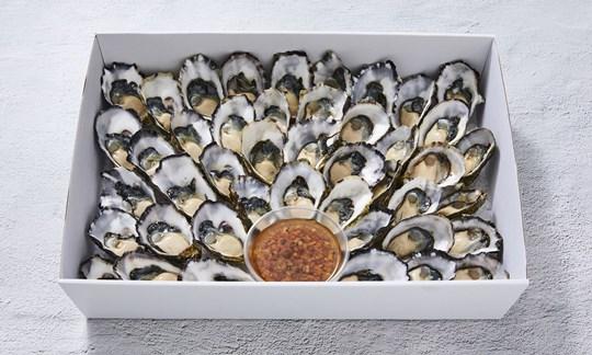 Freshly shucked oysters (GF)