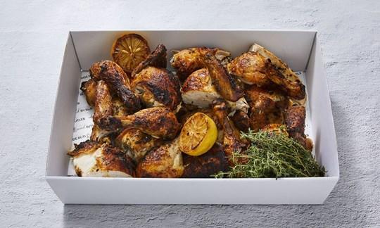 3 roast chickens (24 pieces) (GF)