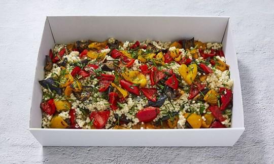 Roast vegetable salad (V, DF)
