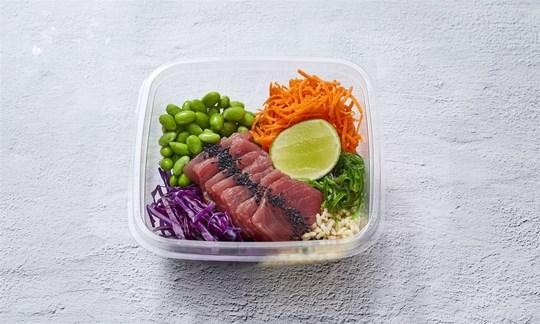 Tuna poke bowl (GF/DF)