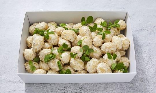 Potato salad with mustard cream (GF)