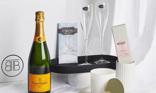 Champagne gift box