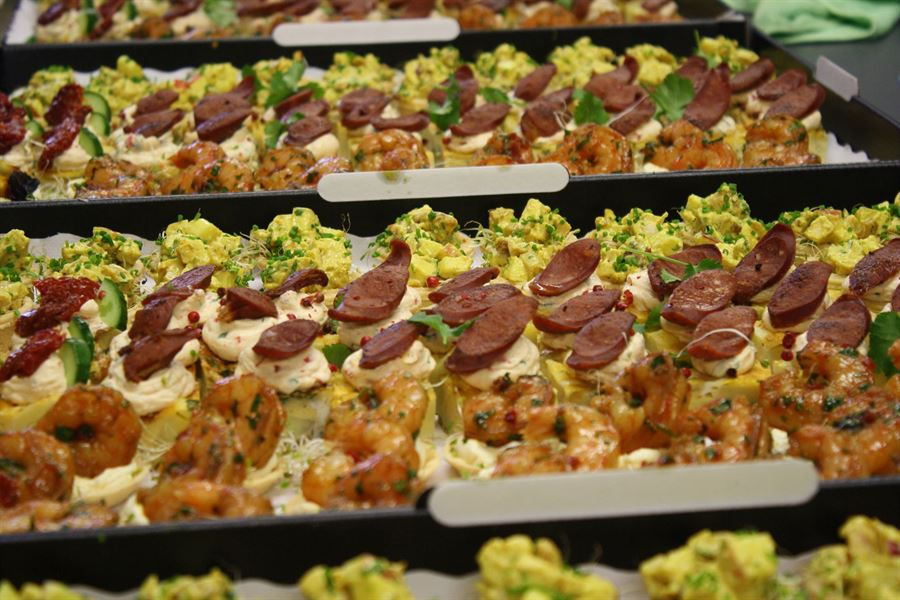 Kewpie Canapes