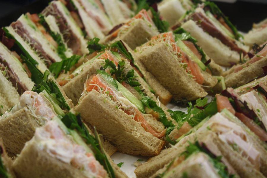 Five - Mixed lunch platter