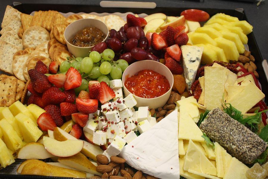 Kewpie Cheese and Fruit Platter