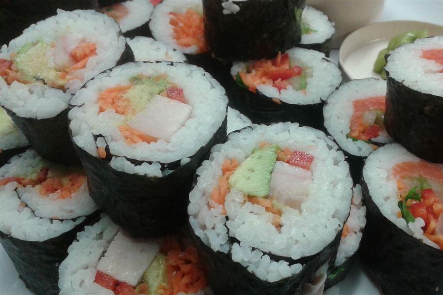 GF/DF Sushi (2pp)
