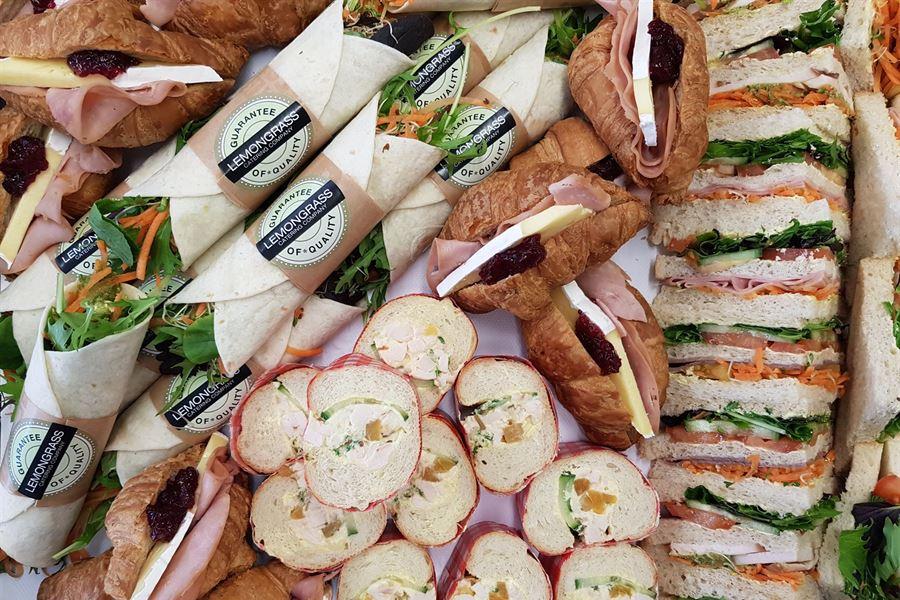 Kewpie sandwich platter (serves 10)