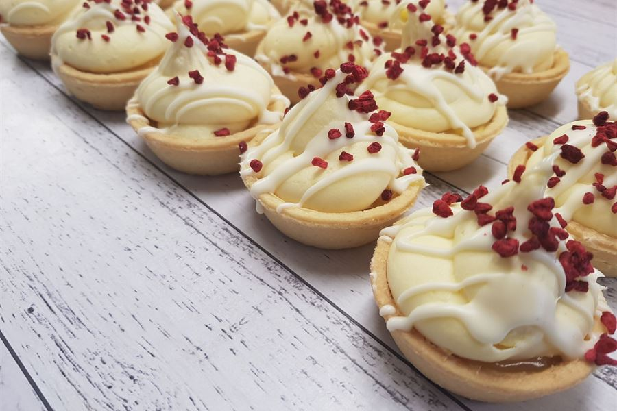 Lemon cream tartlets - 60mm