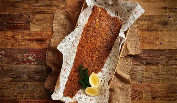 Hot Smoked Salmon Side