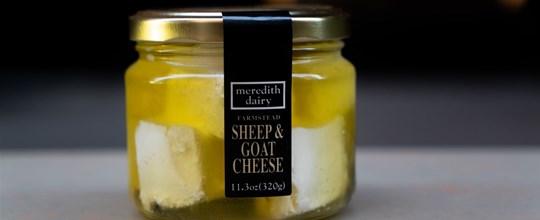 Meredith Dairy Marinated Sheep & Goats Cheese