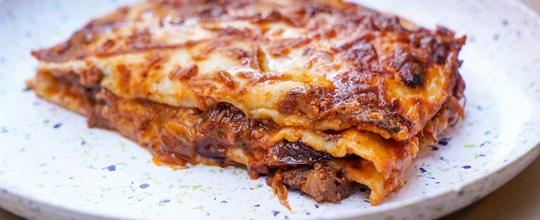 Sourdough Short Rib Lasagna