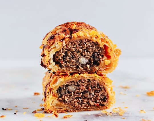 Beef Chili Sausage Roll x 2 Pack